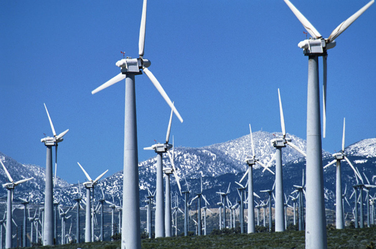 Wind Farm California, Winter